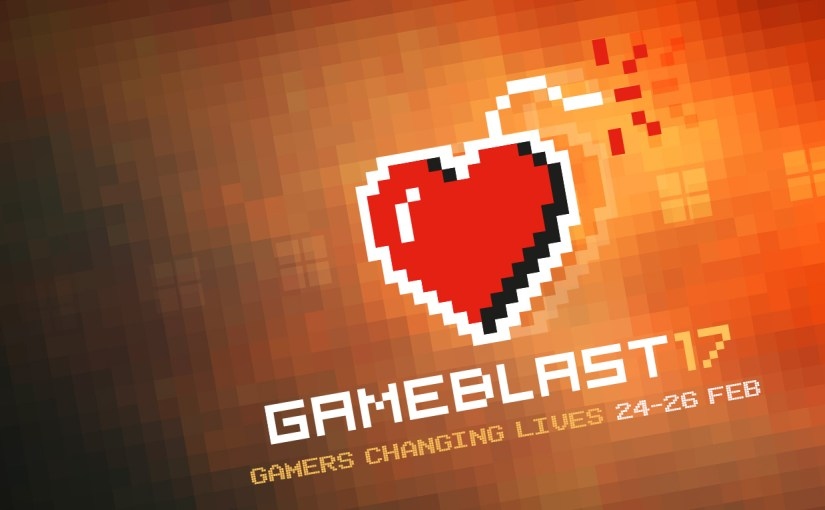Gamely Giving's Gameblast Starts NOW!