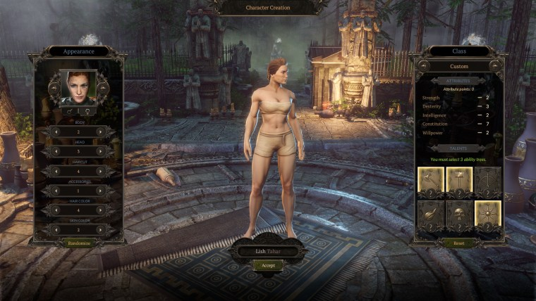 Spellforce 3 - Character Creation