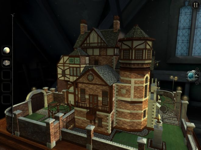 The Room: Old Sins - Dollhouse exterior