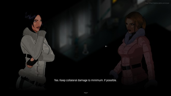 Fear Effect: Sedna - Partners