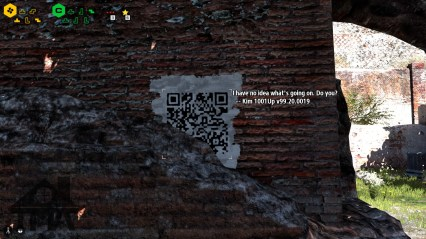 You can find messages your friends leave!