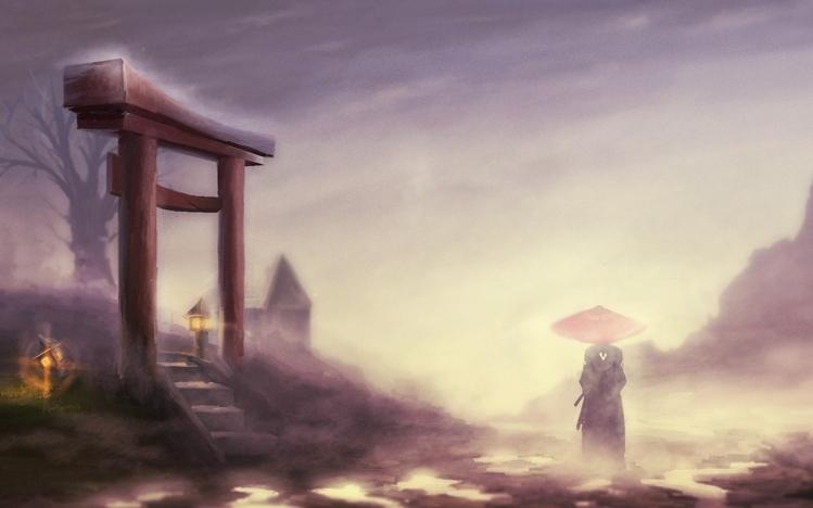Samurai Sword Girl Wallpaper Samurai Windows 10 Theme Themepack Me