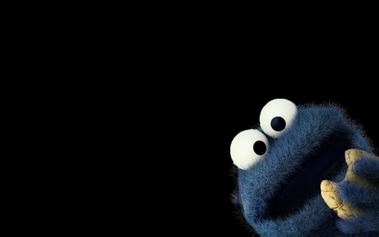 Cute Cookie Monster Wallpaper Hd Cookie Monster Windows 10 Theme Themepack Me