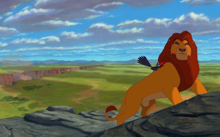 Screenshot Wallpaper Gravity Falls Lion King Windows 10 Theme Themepack Me
