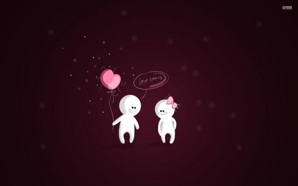 Cool Cartoon Love Wallpapers - MVlC