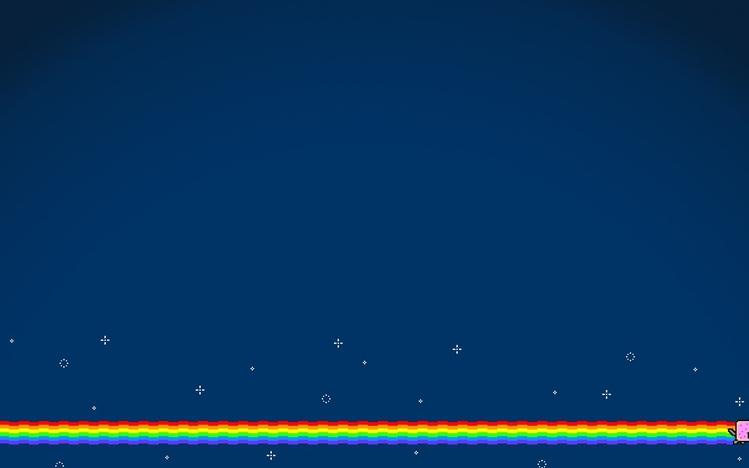 Screenshot Wallpaper Gravity Falls Nyan Cat Windows 10 Theme Themepack Me