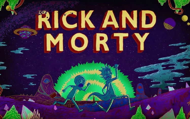 Rick And Morty Hd Wallpaper Rick And Morty Windows 10 Theme Themepack Me