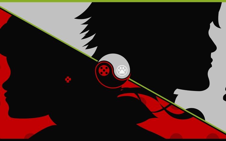 Screenshot Wallpaper Gravity Falls Miraculous Tales Of Ladybug Amp Cat Noir Windows 10 Theme