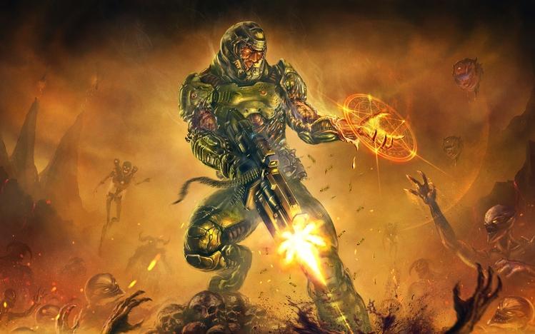 Mlg Hd Wallpaper Doom Windows 10 Theme Themepack Me