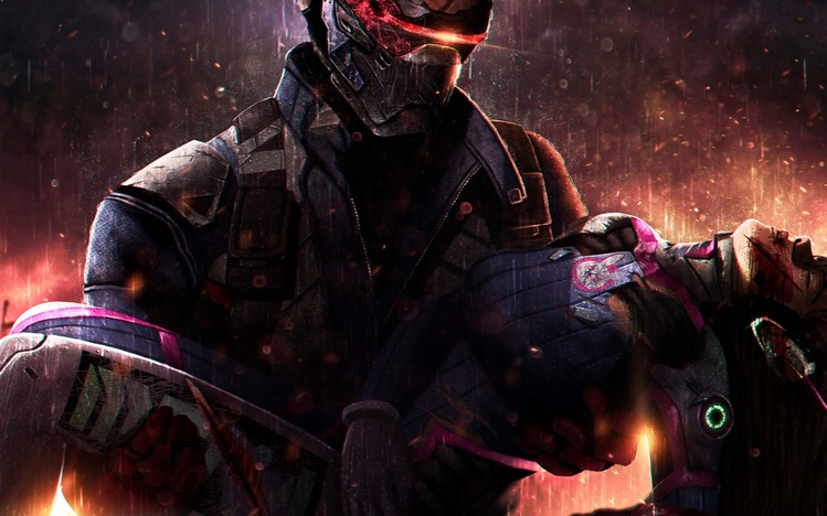 Killzone Shadow Fall Wallpapers Hd Soldier 76 Overwatch Windows 10 Theme Themepack Me