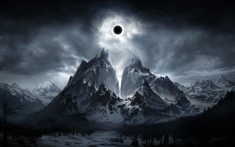 Bape Wallpaper Hd Dark Fantasy Landscape Windows 10 Theme Themepack Me