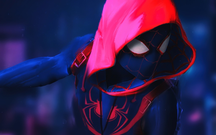 Hd Wallpapers Pack For Windows 10 Spider Man Into The Spider Verse Windows 10 Theme