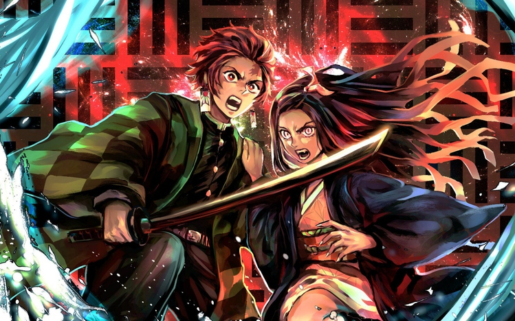 Animated Desktop Wallpaper Windows 7 Demon Slayer Kimetsu No Yaiba Windows 10 Theme Themepack Me