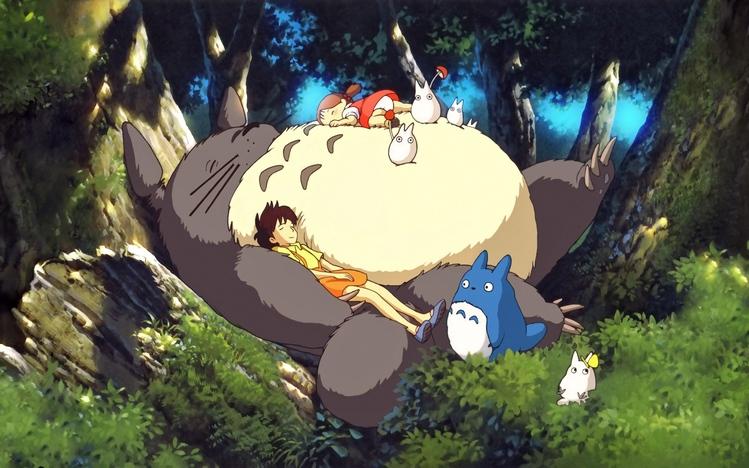 Cute Anime Characters Wallpapers Studio Ghibli Windows 10 Theme Themepack Me