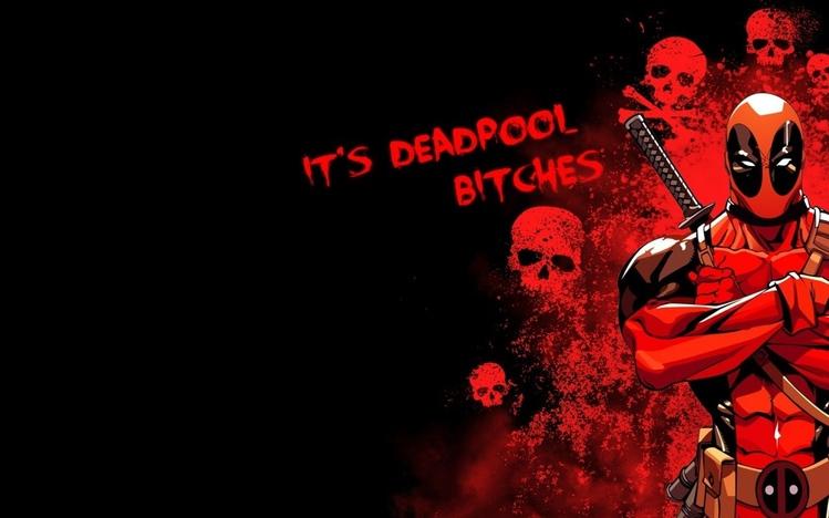 Girl Power Laptop Wallpaper Deadpool Comics Windows 10 Theme Themepack Me