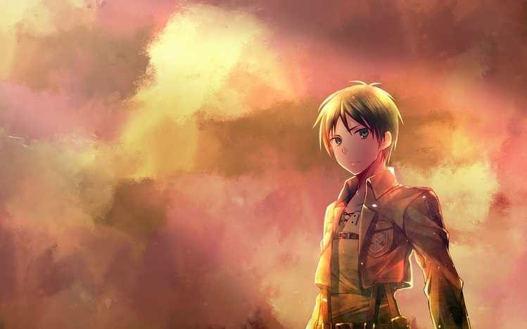 Cute Anime Kitty Wallpaper Attack On Titan Windows 10 Theme Themepack Me
