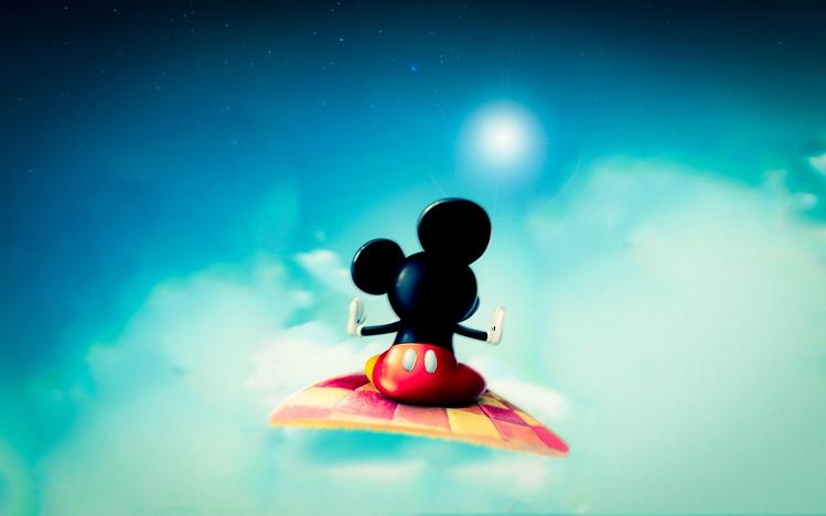 Screenshot Wallpaper Gravity Falls Mickey Mouse Windows 10 Theme Themepack Me