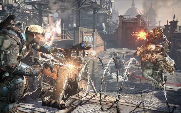 Gears Of War Judgment Windows 10 Theme Themepackme