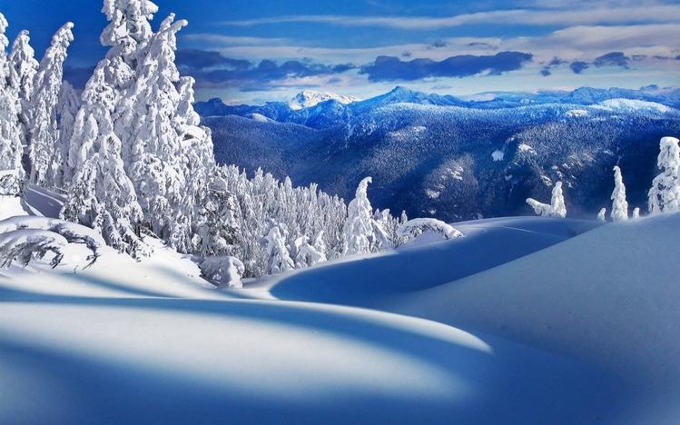 Hd Snowy Mountain Wallpaper Snow Windows 10 Theme Themepack Me