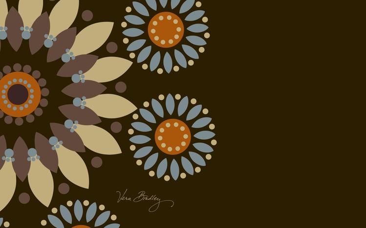 Vector Wallpaper Fall Colors Vera Bradley Windows 10 Theme Themepack Me