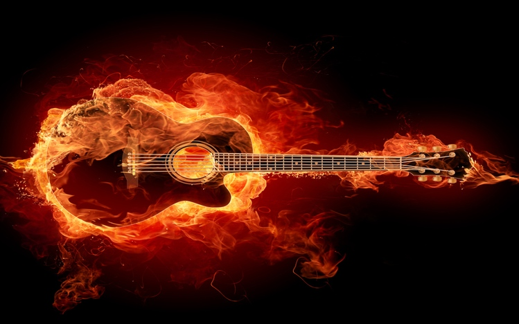 Fall Wallpaper Dual Monitor Guitar Windows 10 Theme Themepack Me