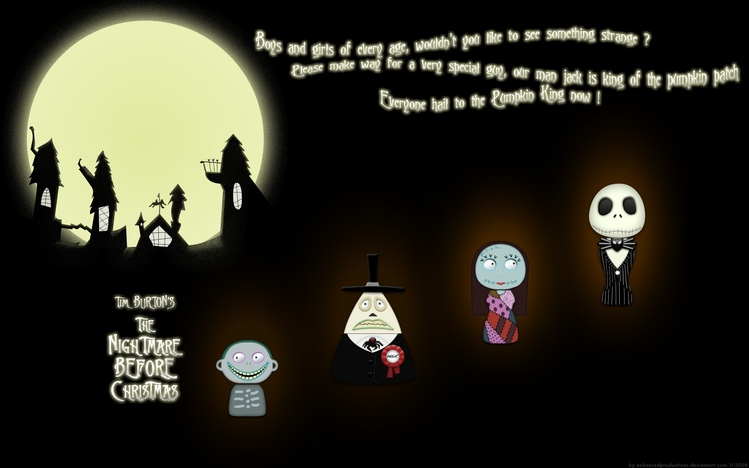 The Mentalist Quotes Wallpaper The Nightmare Before Christmas Windows 10 Theme Themepack Me