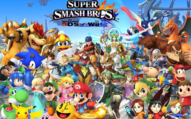 Super Smash Bros Windows 10 Theme Themepackme
