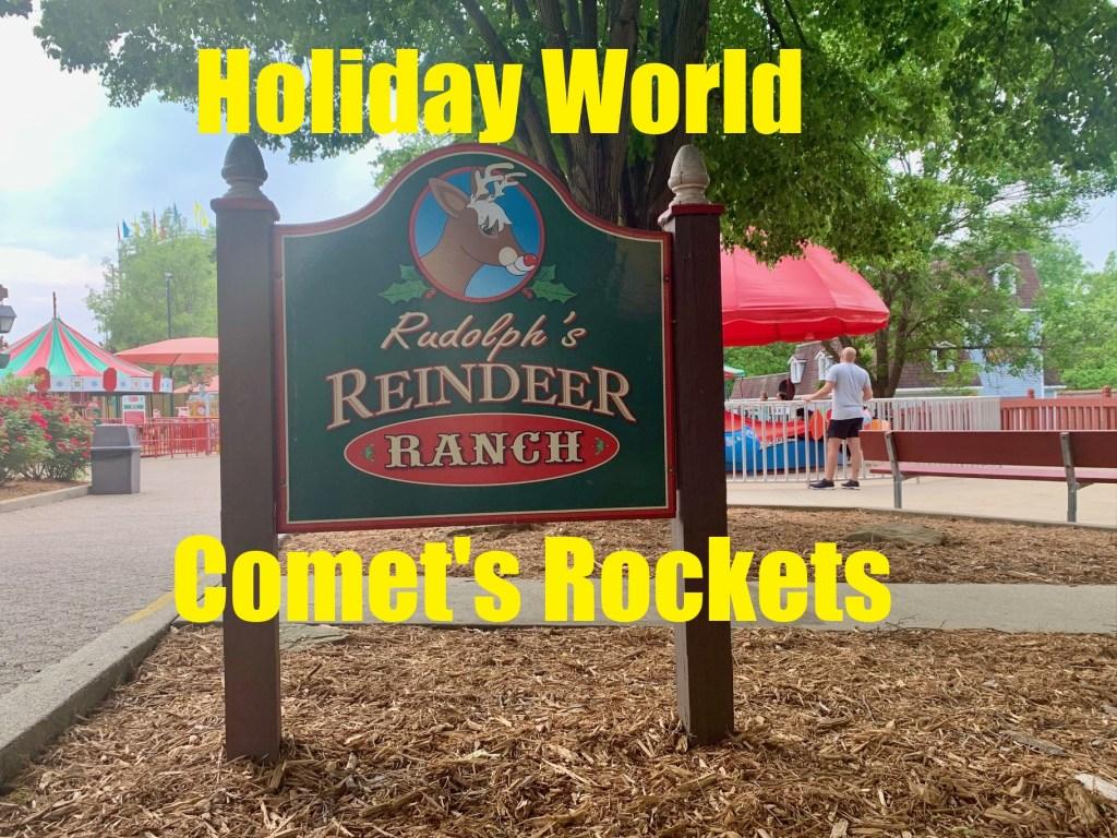 Comet's Rockets at Holiday World