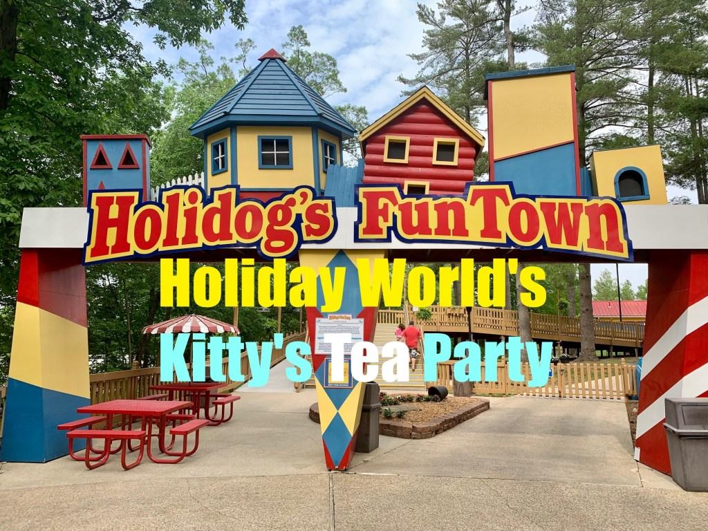Kitty's Tea Party at Holiday World