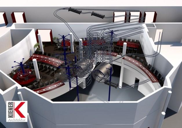 Oostenrijk - Wiener Prater - Rollercoaster Restaurant - 1