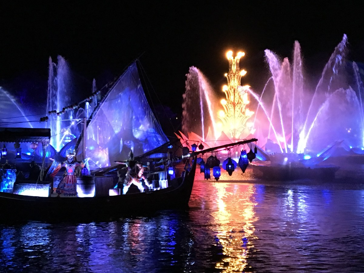 Video Rivers Of Light Nighttime Spectacular Debuts At