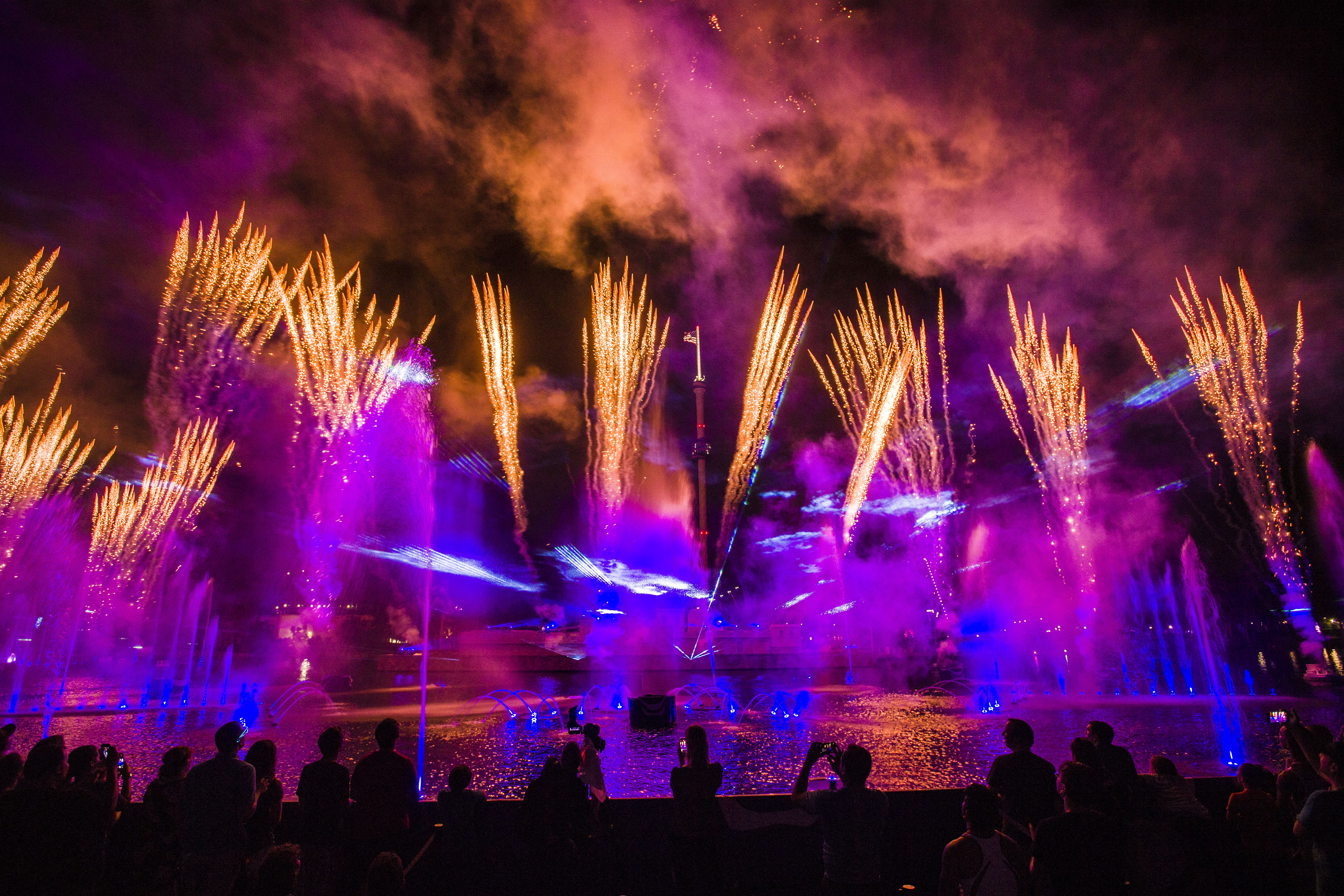 Seaworld Orlando Lights Up The Night This Summer With Electric Ocean