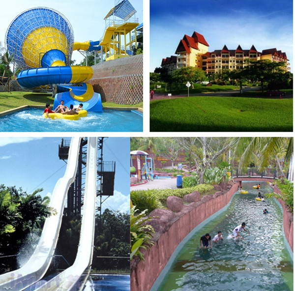 Private Car From Singapore To A Famosa Theme Park