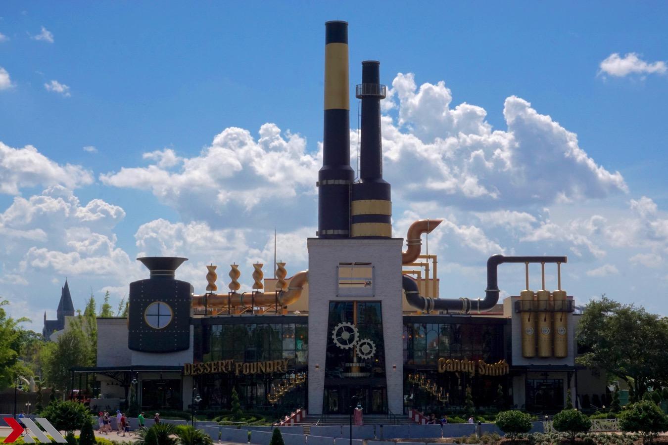 Toothsome Chocolate Emporium Adding Steampunk Sweets to Universal Orlando's Citywalk