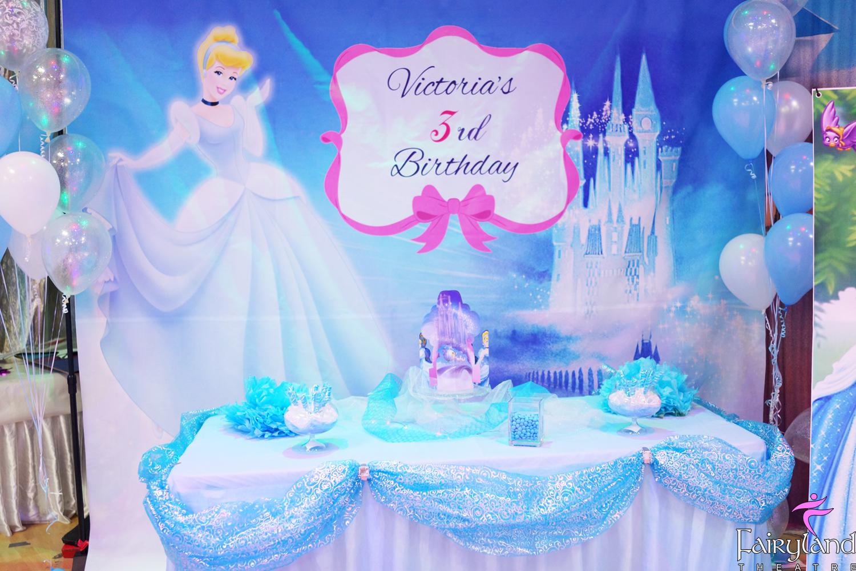 Cinderella Princess Party Toronto  Fairyland Theatre Kids