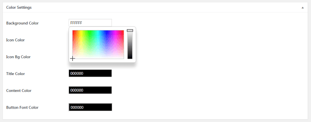 Service Box Color Picker