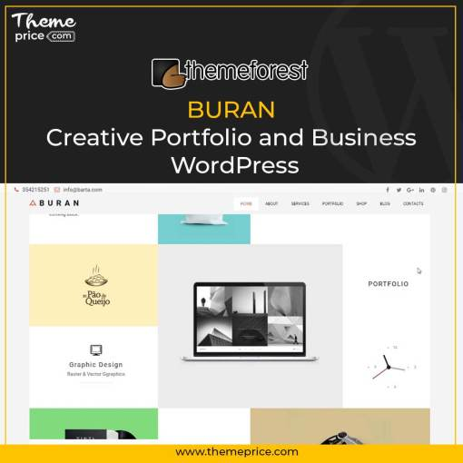 BURAN – Creative Portfolio and Business WordPress