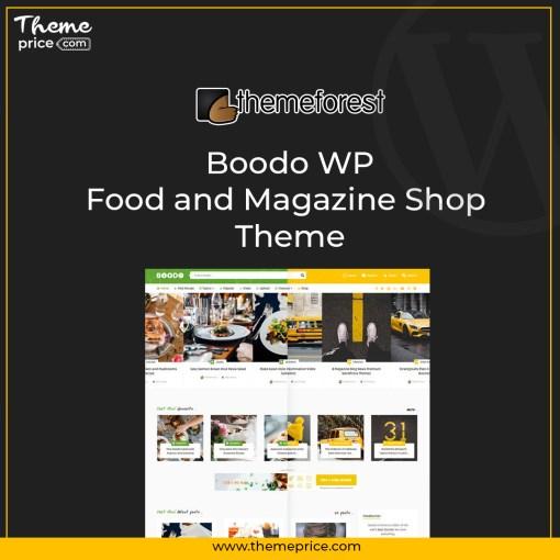 Boodo WP – Food and Magazine Shop Theme