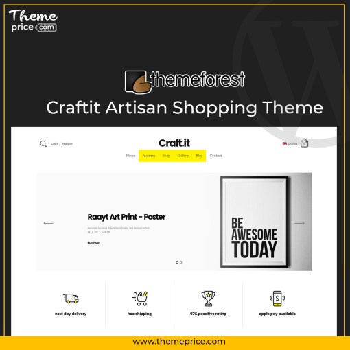 Craftit Artisan Shopping Theme