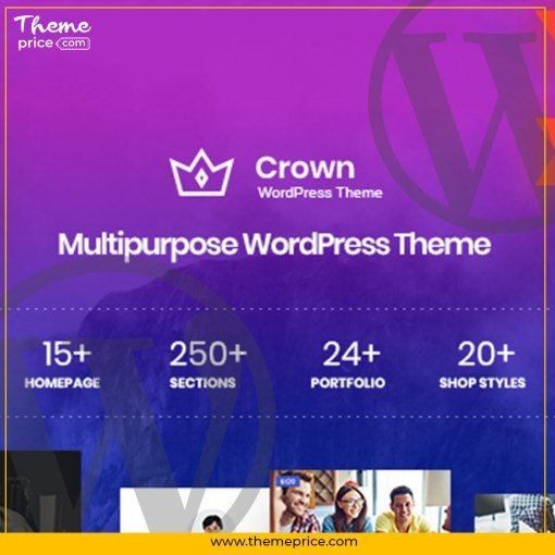Crown – Multi Purpose WordPress Theme