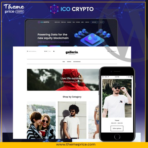Cryptico – ICO Crypto Landing & Cryptocurrency WordPres