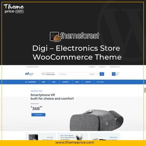Digi – Electronics Store WooCommerce Theme