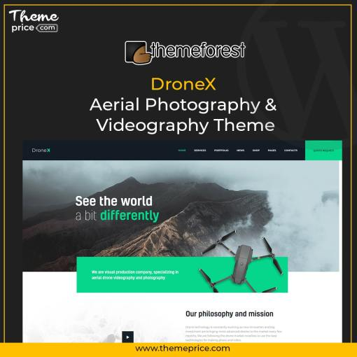 DroneX | Aerial Photography & Videography Theme
