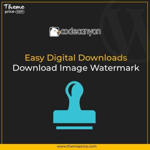 Easy Digital Downloads – Download Image Watermark