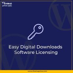 Easy Digital Downloads Software Licensing