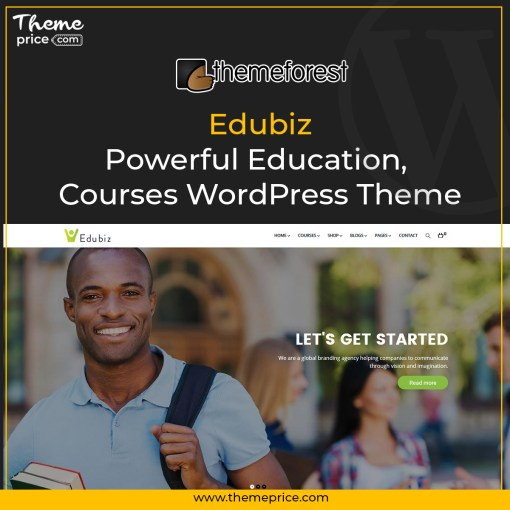 Edubiz – Powerful Education, Courses WordPress Theme