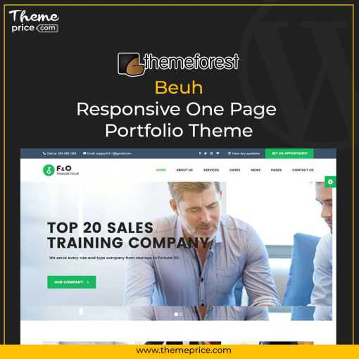 F&O – Consultant Finance WordPress Theme