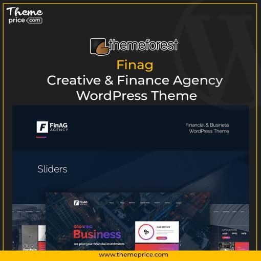 Finag – Creative & Finance Agency WordPress Theme