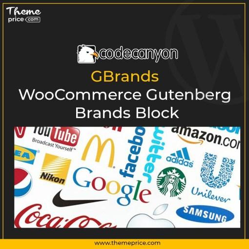 GBrands – WooCommerce Gutenberg Brands Block