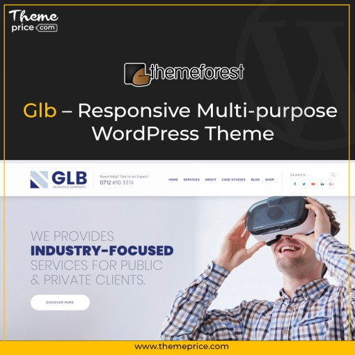 Glb – Responsive Multi-purpose WordPress Theme